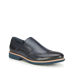 Pánské boty, tmavě modrá, 87-M-901-7-40, Obrázek 1