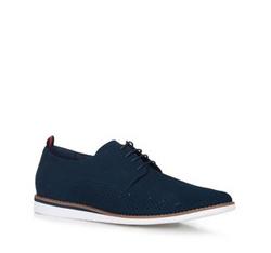 Pánské boty, tmavě modrá, 88-M-909-7-44, Obrázek 1