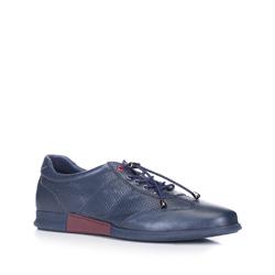 Pánské boty, tmavě modrá, 88-M-936-7-44, Obrázek 1