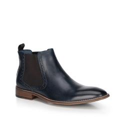 Pánské boty, tmavě modrá, 89-M-510-7-45, Obrázek 1