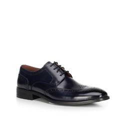 Pánské boty, tmavě modrá, 89-M-905-7-44, Obrázek 1
