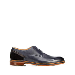 Pánské boty, tmavě modrá, 92-M-506-7-42, Obrázek 1