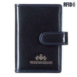Pouzdro na kreditní karty, tmavě modrá, 14-2L-201-N, Obrázek 1