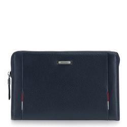Příruční taška s poutkem, tmavě modrá, 86-3U-216-7, Obrázek 1