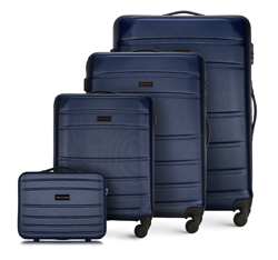 Sada zavazadel, tmavě modrá, 56-3A-65K-90, Obrázek 1