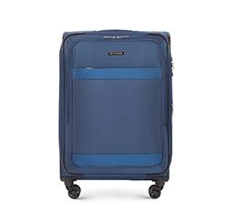 Střední cestovní kufr, tmavě modrá, 56-3S-582-90, Obrázek 1