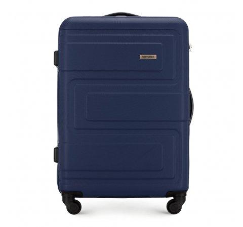 Střední kufr, tmavě modrá, 56-3A-632-30, Obrázek 1