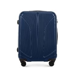 Střední kufr, tmavě modrá, 56-3P-812-90, Obrázek 1