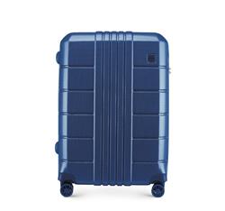Střední kufr, tmavě modrá, 56-3P-822-90, Obrázek 1