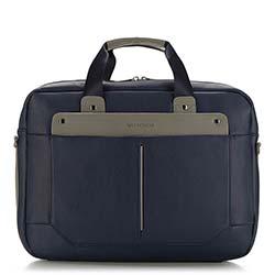 Taška na notebook, tmavě modrá, 86-3P-107-7, Obrázek 1