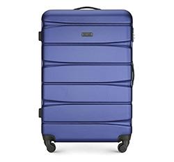 Velký kufr, tmavě modrá, 56-3A-363-91, Obrázek 1