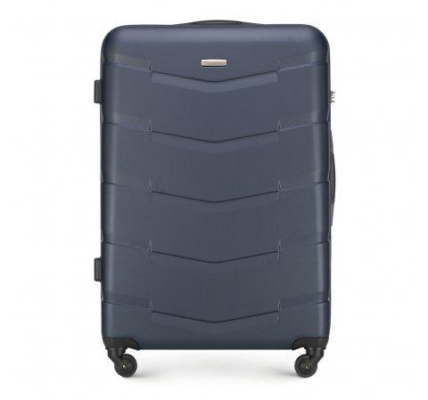 Velký kufr, tmavě modrá, 56-3A-403-91, Obrázek 1