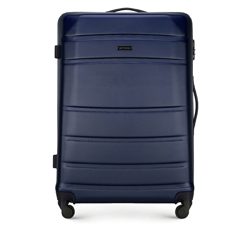 Velký kufr, tmavě modrá, 56-3A-653-90, Obrázek 1