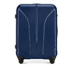 Velký kufr, tmavě modrá, 56-3P-813-90, Obrázek 1