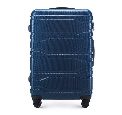 Velký kufr, tmavě modrá, 56-3P-983-10, Obrázek 1