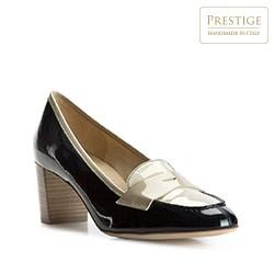 Dámské boty, tmavě modro-béžová, 82-D-105-7-39_5, Obrázek 1
