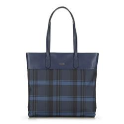 Dámská kabelka, tmavě modro-černá, 90-4Y-750-7, Obrázek 1