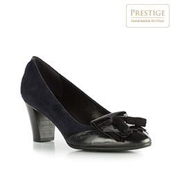 Dámské boty, tmavě modro-černá, 83-D-113-7-38, Obrázek 1