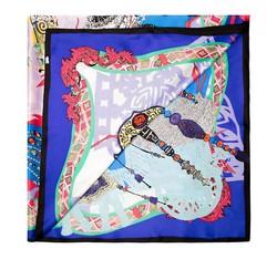 Dámský šátek, tmavě modro-černá, 85-7D-S30-X2, Obrázek 1
