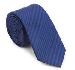 Kravata, tmavě modro-černá, 87-7K-002-7, Obrázek 1