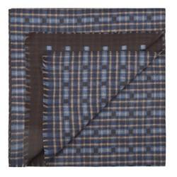 Pánská šála, tmavě modro-černá, 87-7M-X02-X5, Obrázek 1