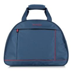 Cestovní taška, tmavě modro-červená, 56-3S-465-91, Obrázek 1