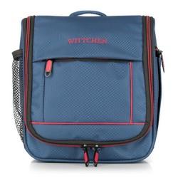 Toaletní taška, tmavě modro-červená, 56-3S-464-91, Obrázek 1