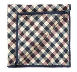 Kapesník, tmavě modro-hnědá, 85-7P-X01-X8, Obrázek 1