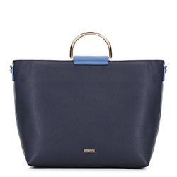 Dámská kabelka, tmavě modro-modrá, 88-4Y-216-7, Obrázek 1