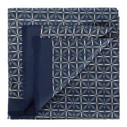 Pánská šála, tmavě modro-šedá, 90-7M-S40-X5, Obrázek 1