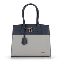 Dámská kabelka, tmavě modro-šedá, 89-4Y-603-8, Obrázek 1
