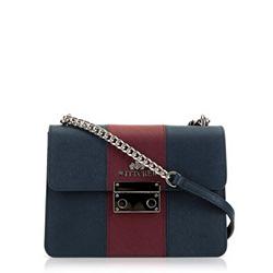 Dámská kabelka, tmavě modro-vínová, 89-4E-411-7, Obrázek 1