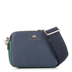 Dámská kabelka, tmavě modro-zelená, 89-4E-507-X1, Obrázek 1