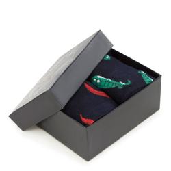Sada pánských ponožek, tmavě modro-zelená, 93-SK-004-X1-40/42, Obrázek 1