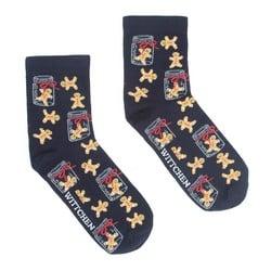 Dámské ponožky, tmavě modro-žlutá, 91-SK-020-X1-37/39, Obrázek 1