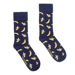 Panské ponožky, tmavě modro-žlutá, 92-SK-003-X1-40/42, Obrázek 1