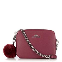 Dámská kabelka, tmavě růžová, 29-4E-003-F, Obrázek 1