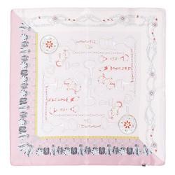 Hedvábný šátek, tmavě růžová, 93-7D-S01-55, Obrázek 1