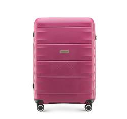 Střední cestovní kufr, tmavě růžová, 56-3T-762-24, Obrázek 1
