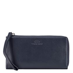 Dámská peněženka, tmavě tmavě modrá, 21-1-444-N, Obrázek 1