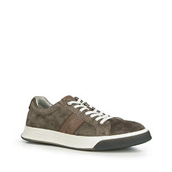 Pánské boty, tmavošedá, 90-M-500-8-40, Obrázek 1