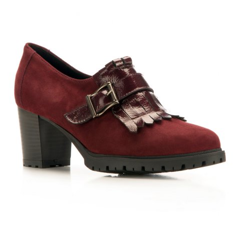 Dámské boty, třešňová, 85-D-306-2-35, Obrázek 1