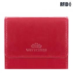 Malá dámská kožená peněženka, třešňová, 14-1-078-L91, Obrázek 1