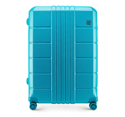 Großer Koffer, türkis, 56-3P-823-95, Bild 1