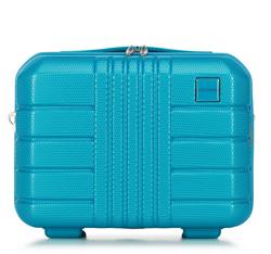 Polikarbonátból készült utazási kozmetikai táska, türkiz, 56-3P-824-95, Fénykép 1