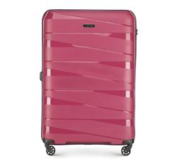Большой чемодан, тусклый розовый, 56-3T-793-35, Фотография 1