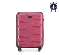 Чемодан ручная кладь, тусклый розовый, 56-3T-791-35, Фотография 1