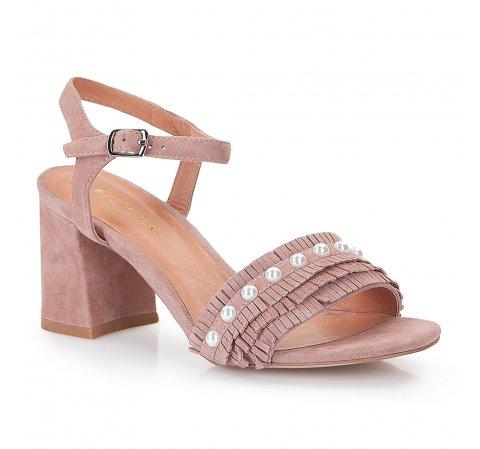 Обувь женская, тусклый розовый, 86-D-919-P-40, Фотография 1