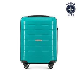 Kabinové zavazadlo, tyrkysová, 56-3T-721-85, Obrázek 1