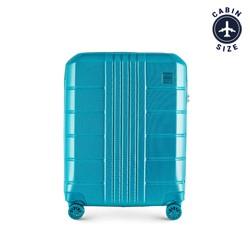 Kabinový cestovní kufr, tyrkysová, 56-3P-821-95, Obrázek 1